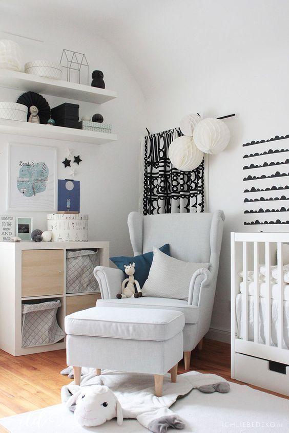 ein babyzimmer einrichten mit ikea in 6 einfachen schritten pinterest ikea babyzimmer. Black Bedroom Furniture Sets. Home Design Ideas