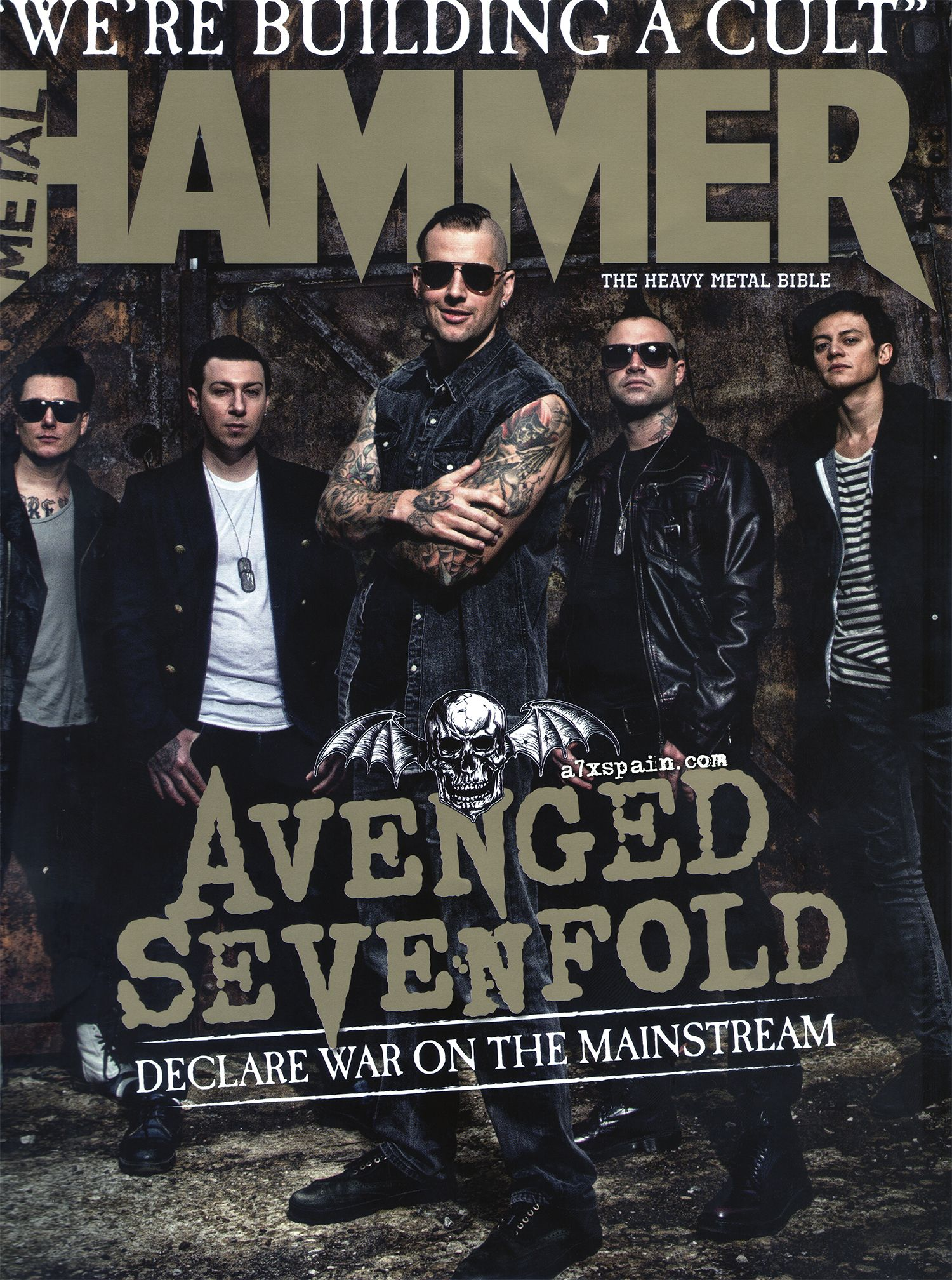 Metal Hammer UK, Diciembre 2013  Encontrarás el artículo en