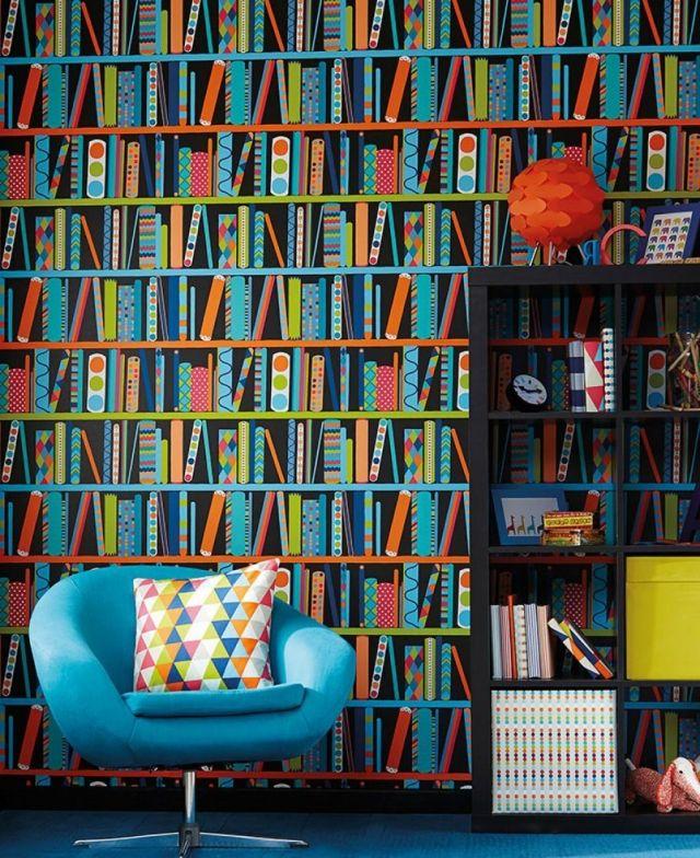 80 idées de papier peint de salon \u2013 Cool, modèles modernes