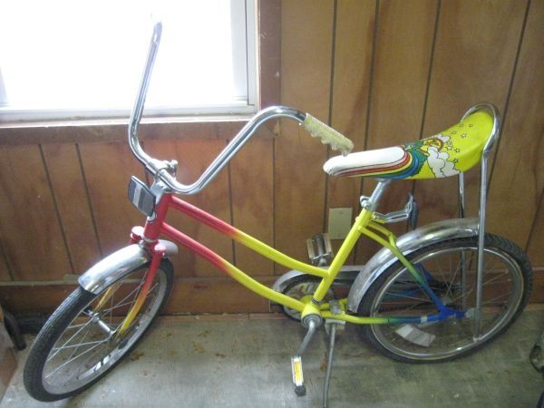 My First Bike Sears Free Spirit With A Rainbow Banana Seat