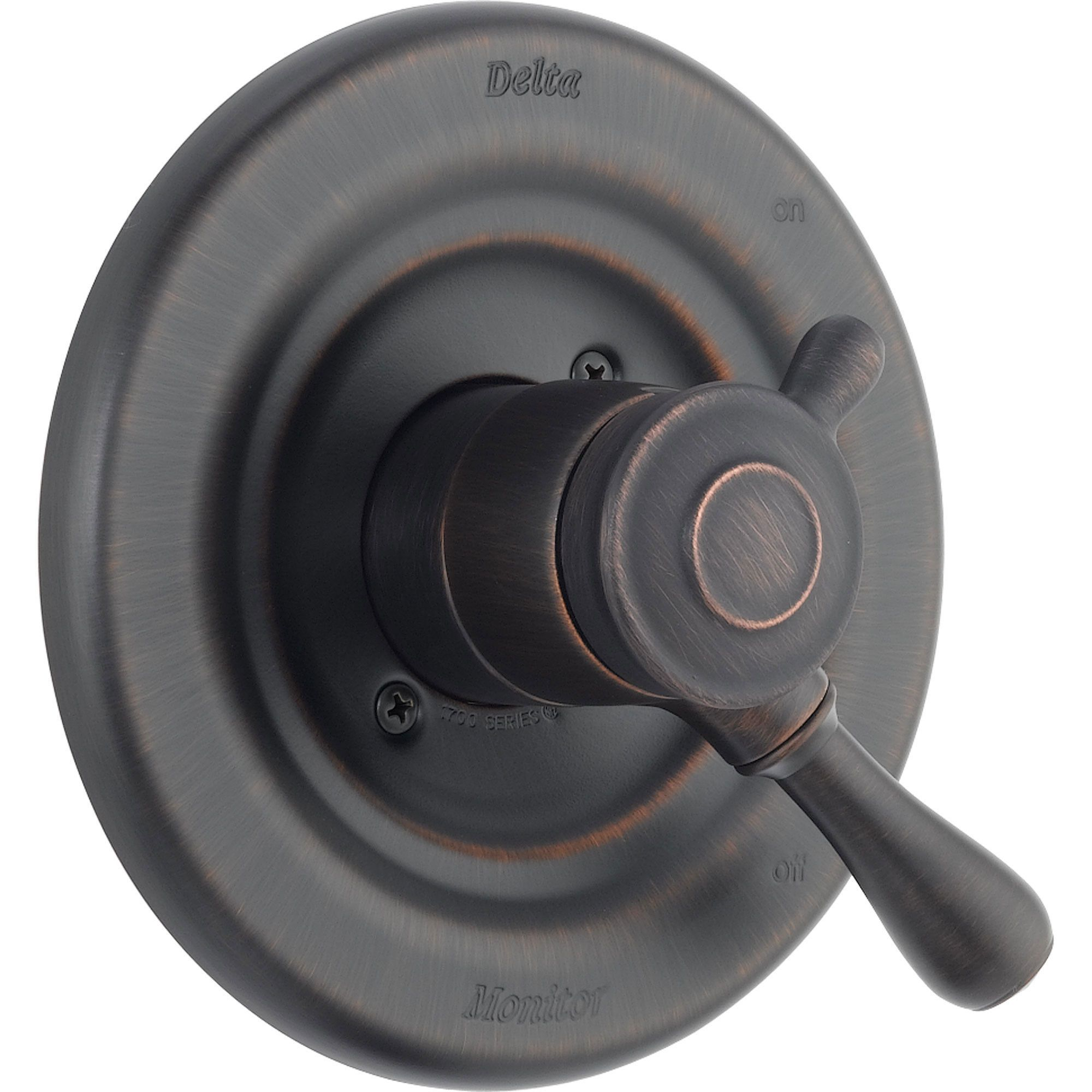 Delta Leland Venetian Bronze Temp/Volume Shower Control Valve Trim ...