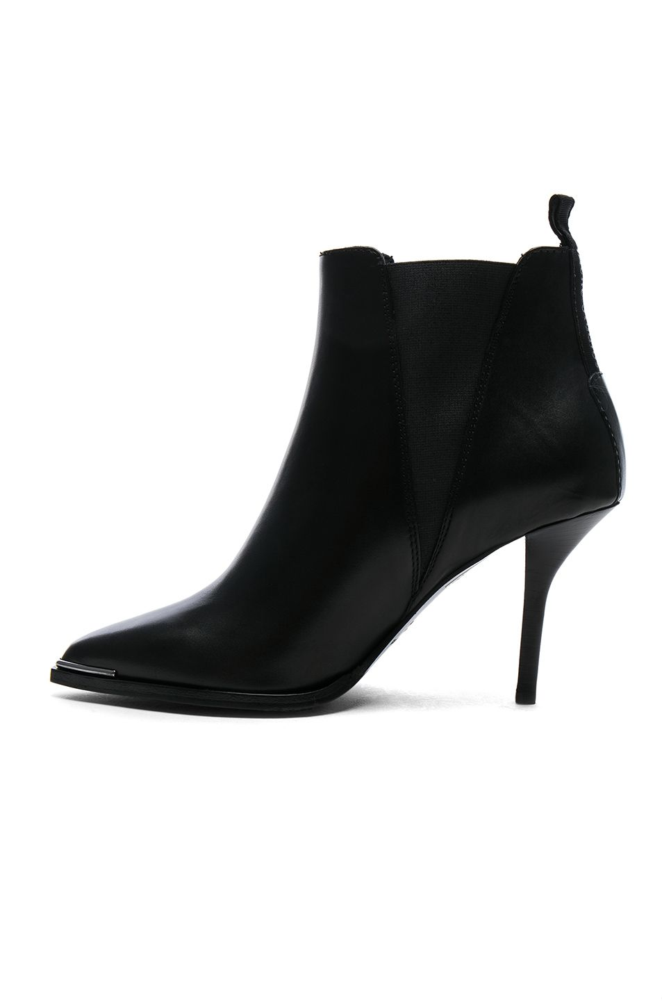 Acne Leather Jemma Booties in . vCeae