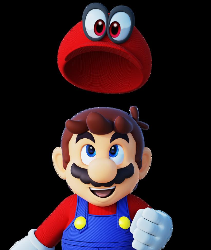 Mario Odyssey Render By Https Www Deviantart Com Thiscgidude On Deviantart Mario Super Mario Mario Characters