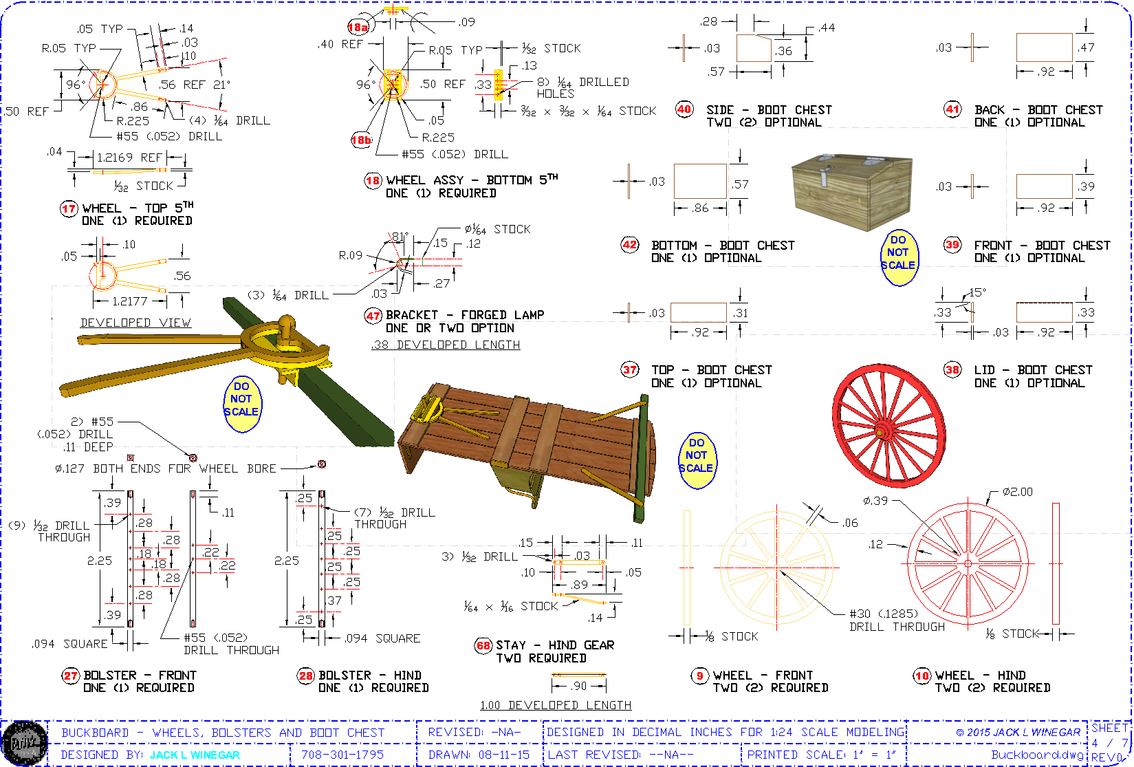 Sheet 4 Of 7 Super B 13 X 19 Plan Set Sheet Showing How To Build
