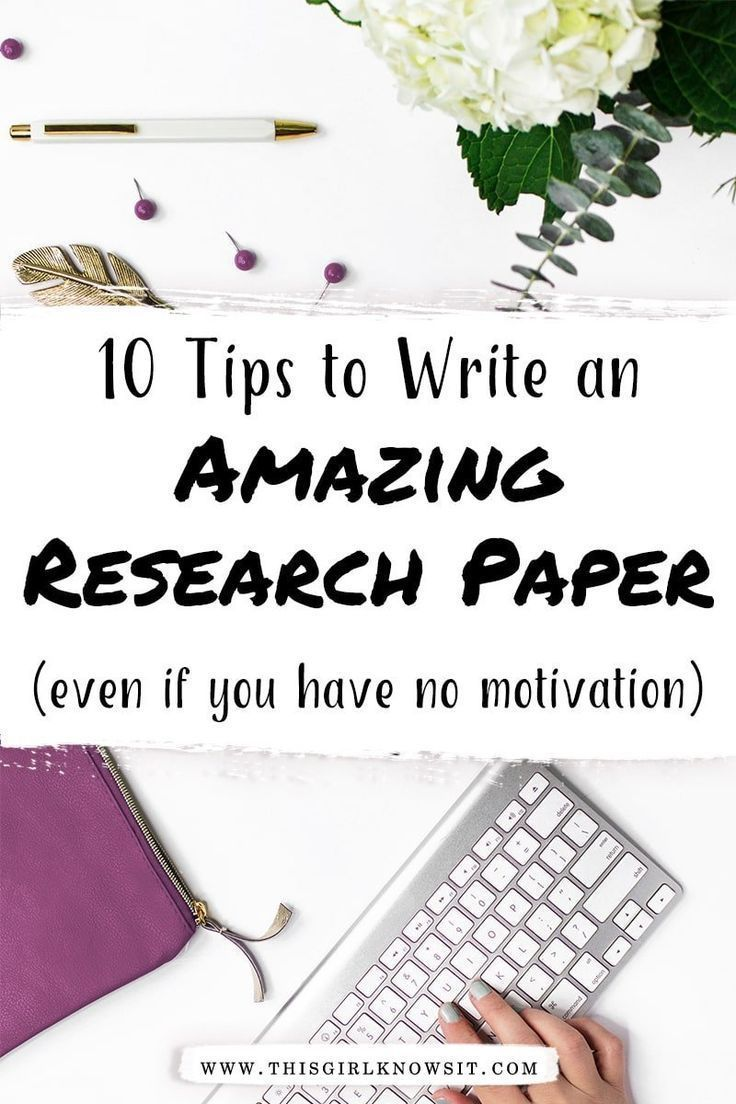 How to Write an Amazing Research Paper (Even If You Have