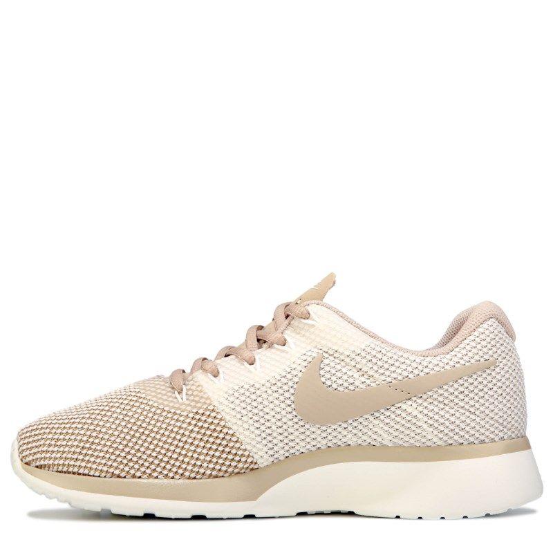 low priced c41f1 cae49 Nike Womens Tanjun Racer Sneakers (MushroomSail)