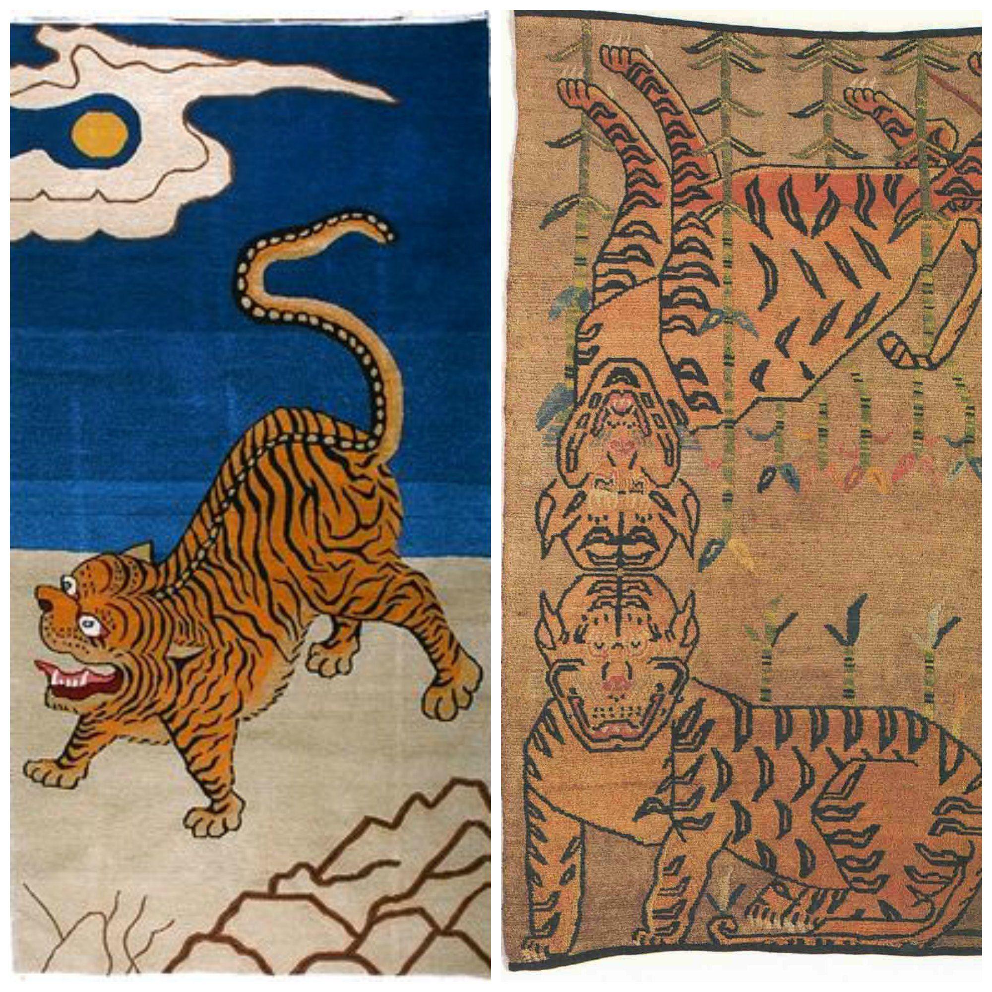 Tibetan Tiger Rug - Bing Images