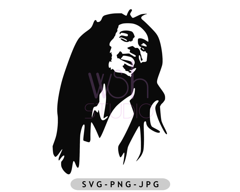 Buy 4 Pay For 2 Bob Marley Digital Download Svg Png Jpg Etsy In 2021 Marley Bob Marley Digital Prints