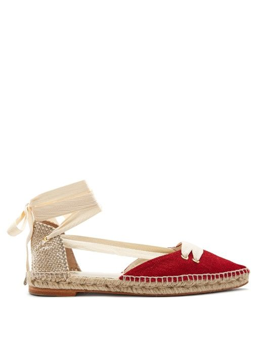 Castañer Slingback Espadrille Flats clearance low price fee shipping cheap sale order vxc9BO