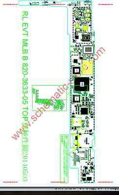 Apple iPad Air 2 a1566 a1567 schematic diagram with board view