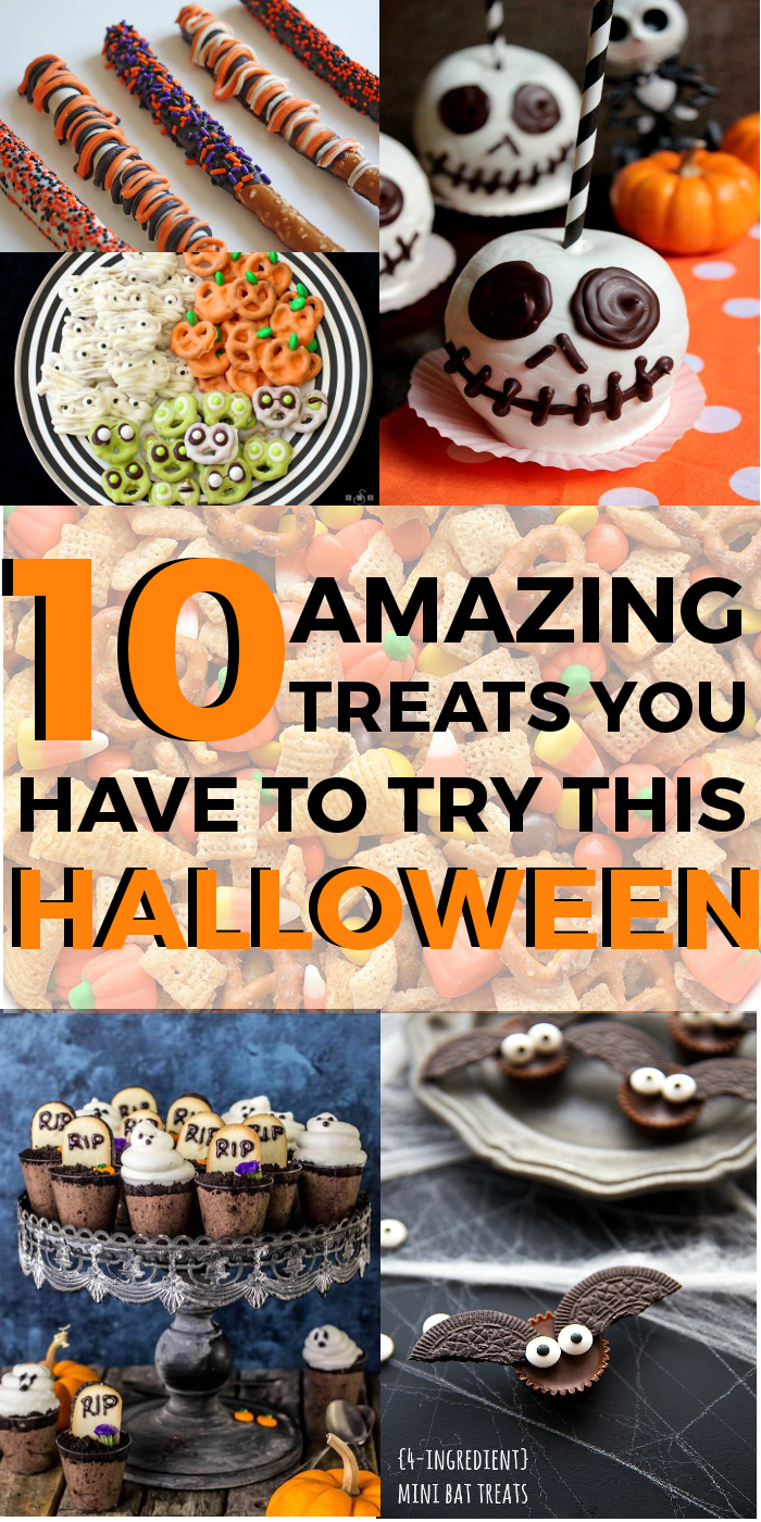 10 amazing treats to try this halloween | halloween foods, party