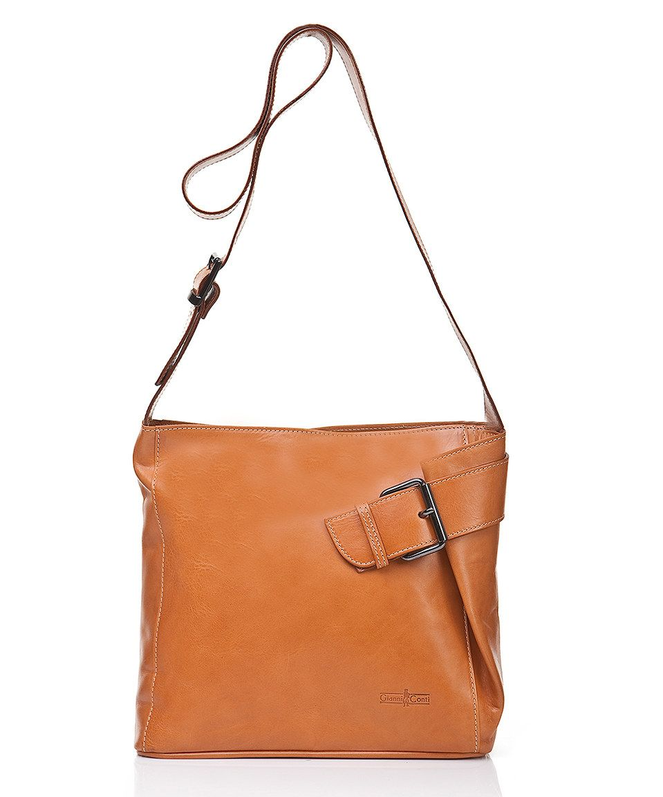 This Gianni Conti Camel Tina Leather Handbag By Is Perfect Zulilyfinds