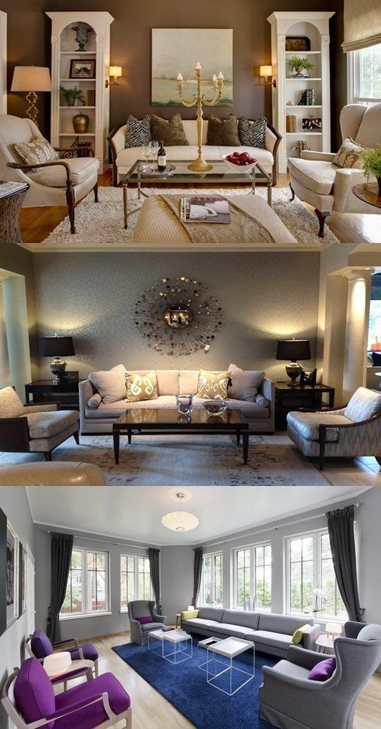 Interior Paint Ideas for the Living Room - The living room is a