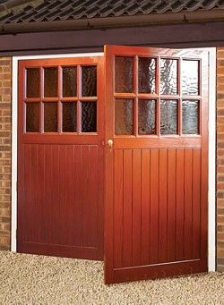 GRP side hinged garage door | home remodeling ideas | Pinterest ...