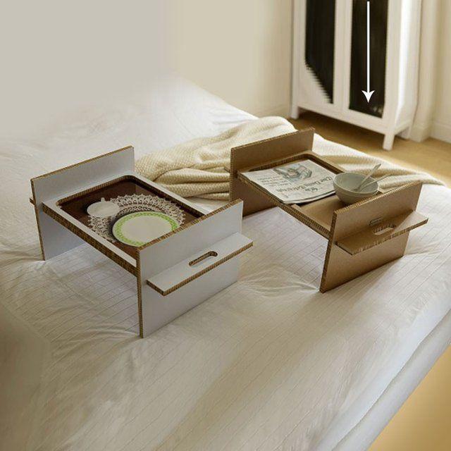 Tray By Gloook 90 Bed Tray Diy Cardboard Furniture Diy Cardboard