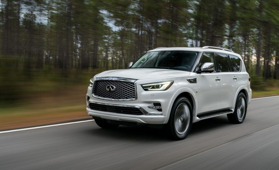 The New Monograph Idea Will Underpin The New 2020 Infiniti Qx80 The Huge Suv Is Getting A New Generation And Fresh Architecture New Infiniti Infiniti New Cars