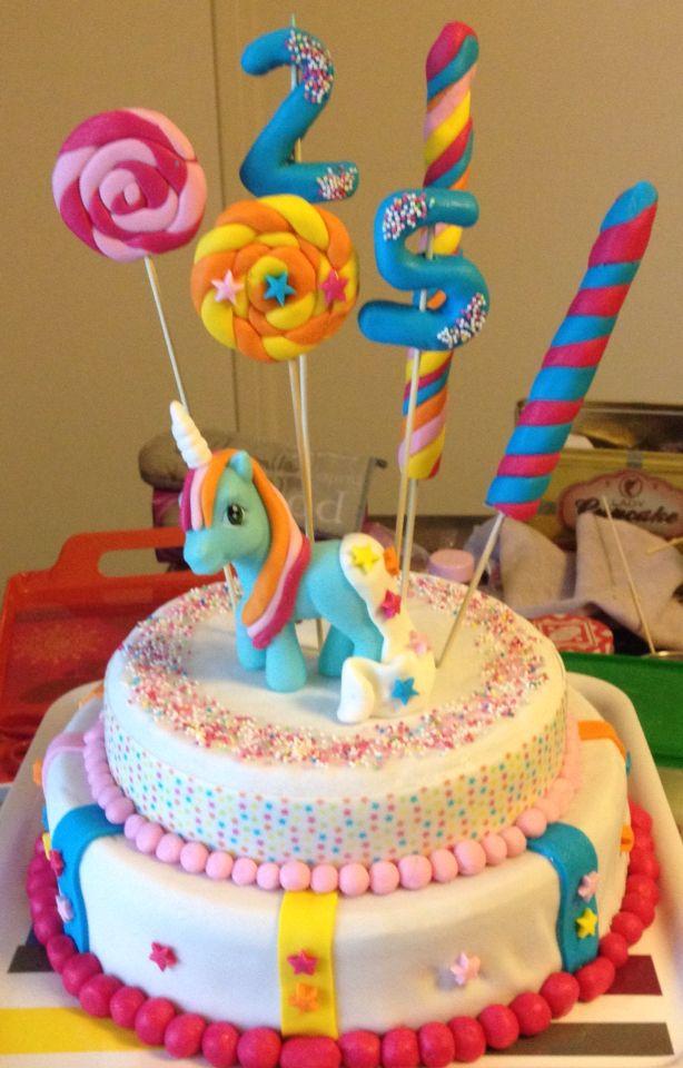 anniversaire theme licorne