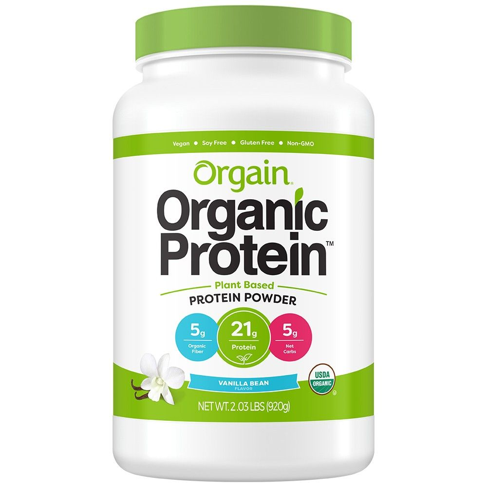 Orgain Organic Vegan Protein PlantBased Protein Powder
