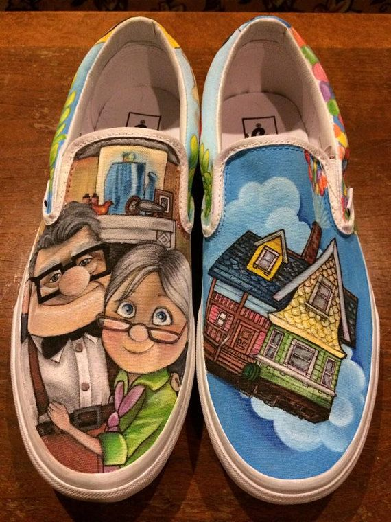 cd9a11e1a6 Custom Painted Vans by TheCandyJarSneakers on Etsy