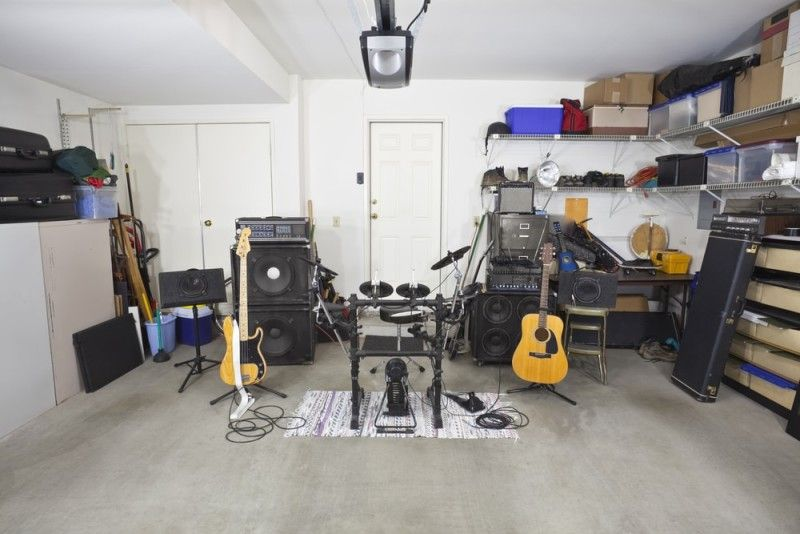 Music Practice Rooms And Home Music Studio Ideas Home Studio Music Band Rooms Garage Band