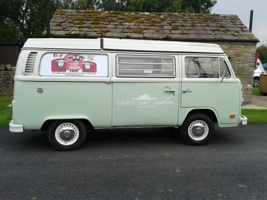 How careless! Another 3 Pink Sheep lost! Last seen in the back of Tilly our lovely pale green VW Campervan - if you spot them, you could win one of the fabulous prizes!