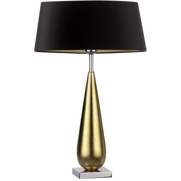 Heathfield Co Bello Tear Gold Leaf Table Lamp Lamp Gold Table Lamp Modern Table Lamp