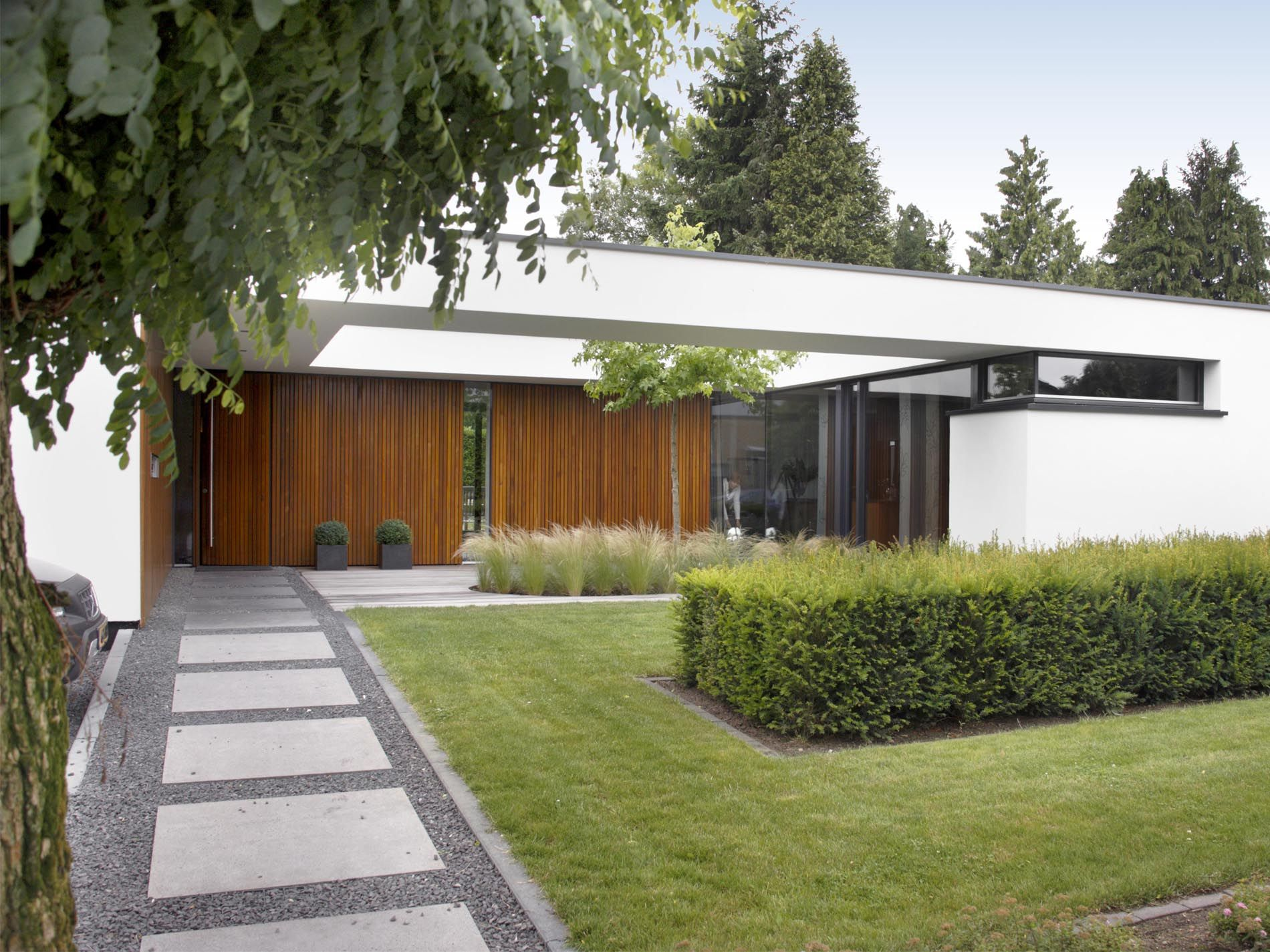Maas architecten transformatie patiowoning borculo for Moderne bungalow architectuur