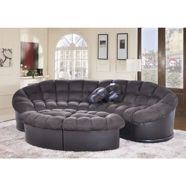 grey dark design microfiber costco gray sofa couch euro spaces small sectional