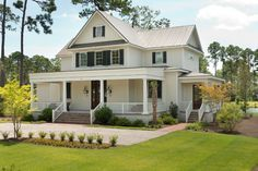 Jaw-Dropping Steel Frame House w/ Welcoming Porch! (11 HQ Pictures) | Metal Building Homes