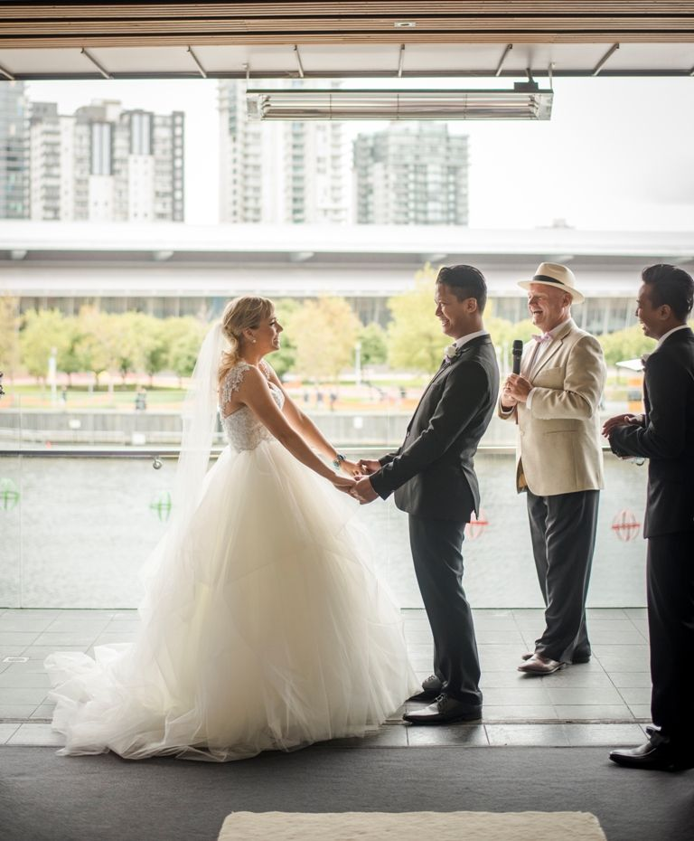 Nicole and Azan Married at River's Edge Events | Waterfront