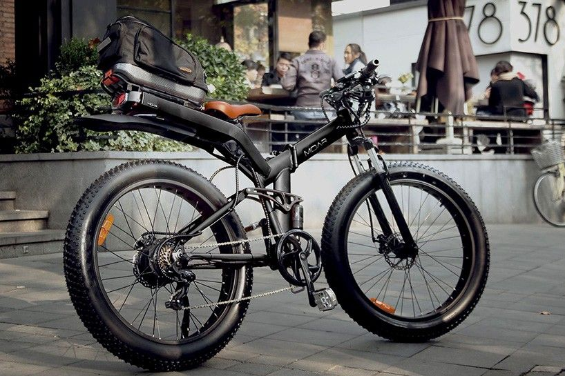 The Moar Foldable Ebike Packs A Serious 750w Engine Foldable