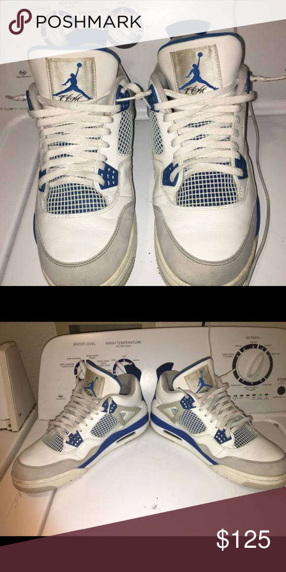 save off 4cec6 41d0e MILITARY 4S AIR JORDAN Military 4s- -Size:11 -Condition:8:10 ...