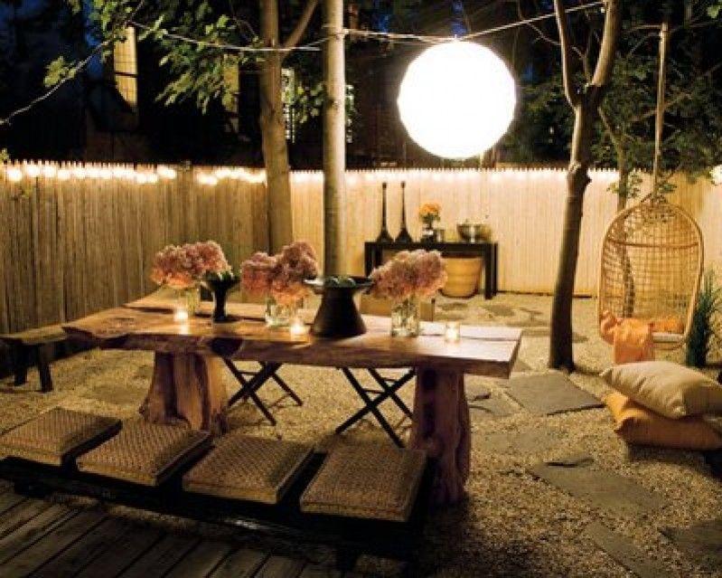 no todo el mundo tiene la suerte de contar con un patio interior en su propiedad