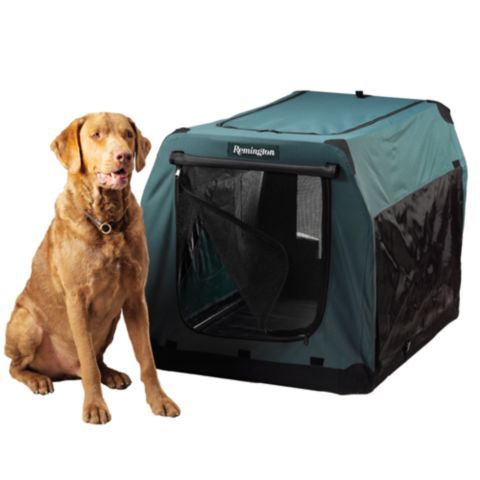 Remington Canvas Collapsible Dog Kennel Large Extra Large Breed