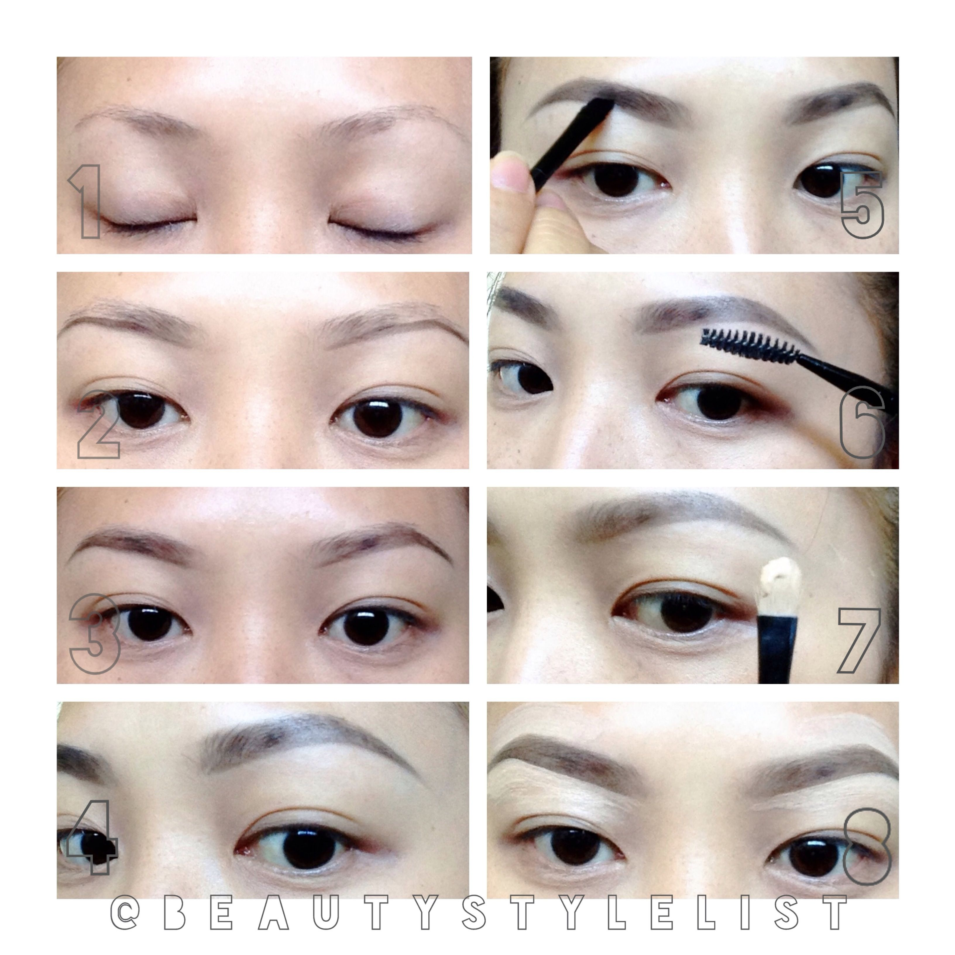 Part 1 Part One Eyebrow Pictorial Eyebrow Tutorial Perfect