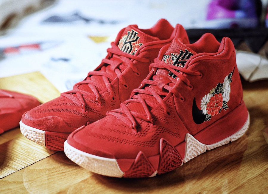 nike kyrie 4 red