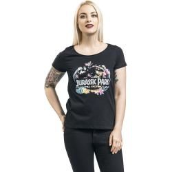 Jurassic Park Logo - Floral T-ShirtEmp.de
