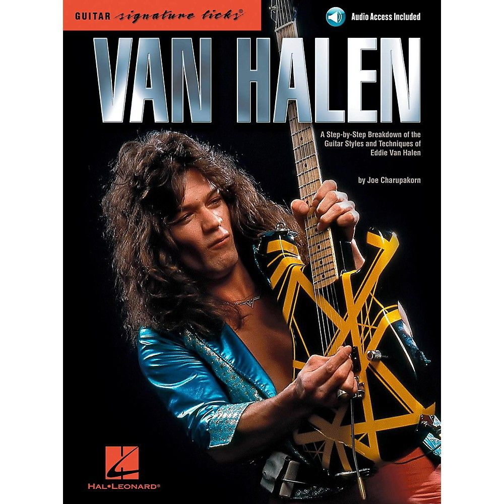 Hal Leonard Van Halen Guitar Signature Licks Book Online Audio In 2020 Eddie Van Halen Van Halen Halen