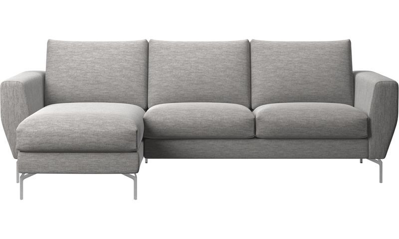 Chaise Lounge Sofas Nice Sofa With Resting Unit Gray Fabric