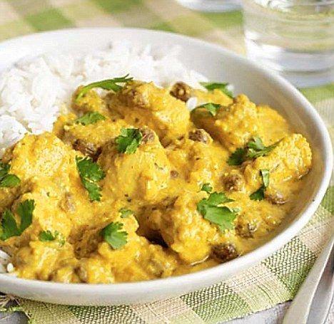 Todays recipe light chicken korma korma curry and tom kerridge light chicken korma forumfinder Choice Image