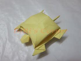 Photo of HandHand: Origami Turtle Schritt 1: Sie benötigen ein quadratisches Stück Papier. Schritt 2…