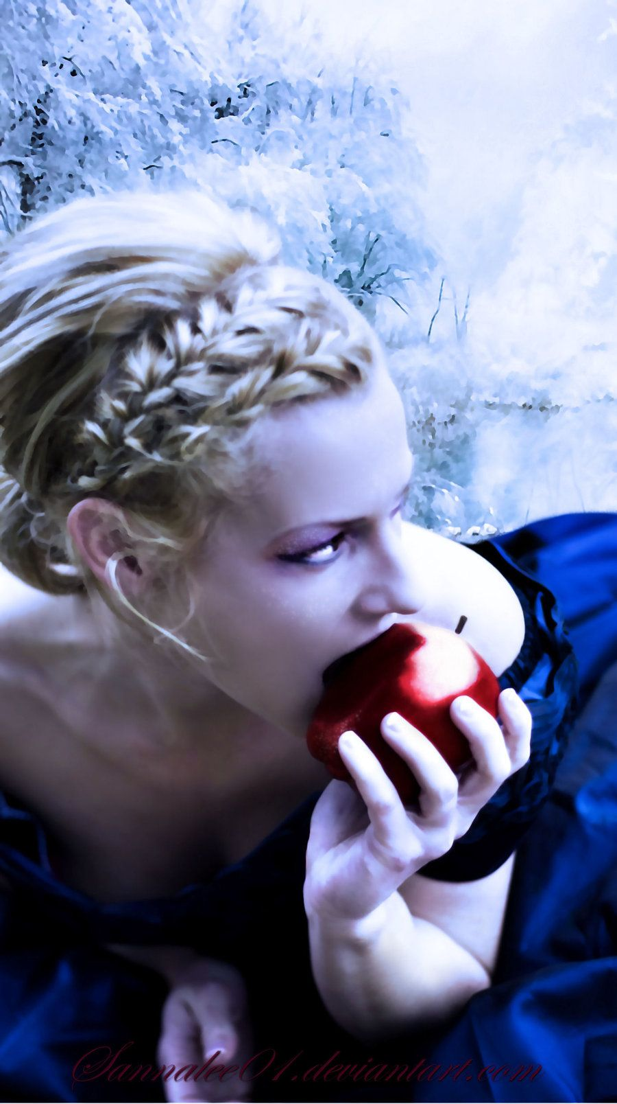 Once upon a time the Evil Queen gave Snow White a poisoned apple ...