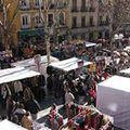Rastro markt Madrid