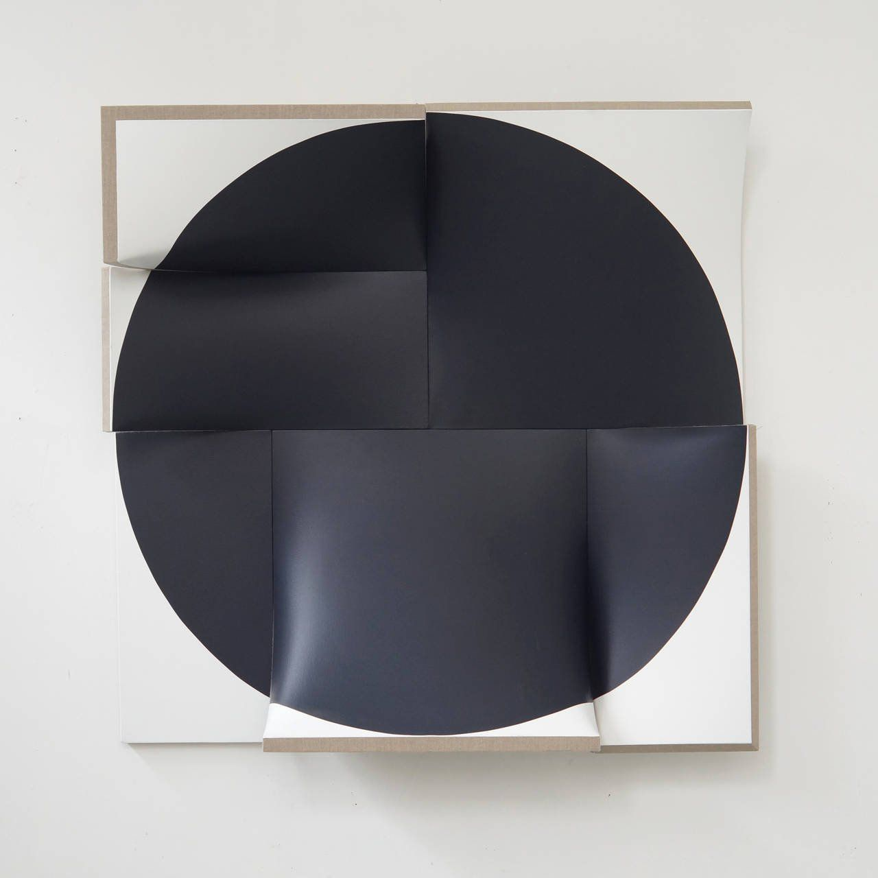 Improved pointless black 1 abstract sculpture abstract