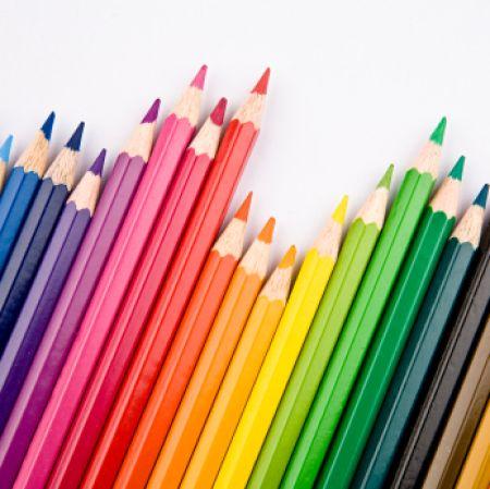Colours, colours and more colours!