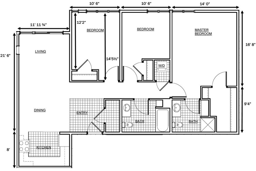 Floor Plans With Dimensions House floor plans
