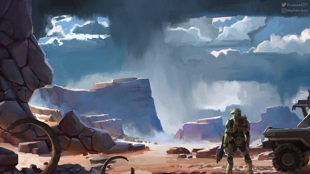 Concept Art Halo Infinite