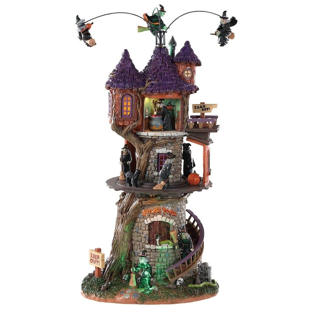 Our 2018 pick, Witches Tower Lemax spooky town