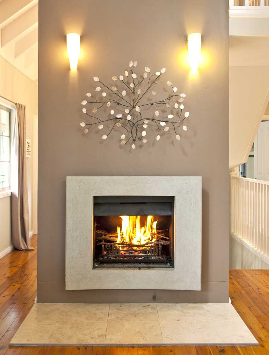 contemporary fireplaces are normally mounted on a wall up off the floor description from - Designs For Fireplaces