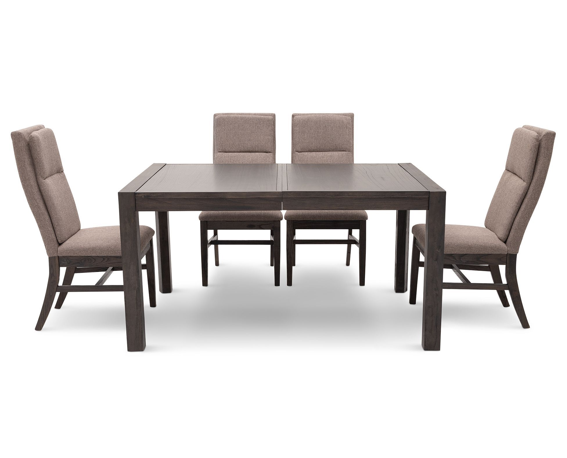 Get Clearance Pricing On The Streamlined Denmark Dining Set In Wire Brushed Cool Gray Finish For A Limited Time Rowe Furniture Dining Room Sets Furniture